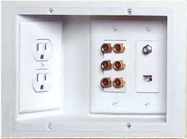 Recessed Electrical Outlets